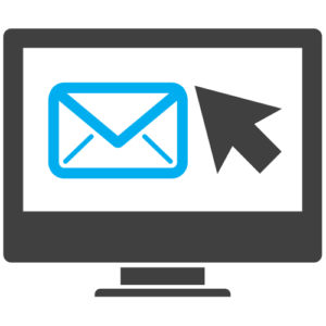 Computer email icon